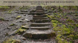 Hit cselekves, első lépcsőfok