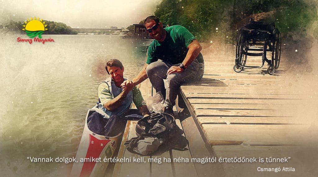 Parasport edzői szemmel - interjú Csamangó Attilával