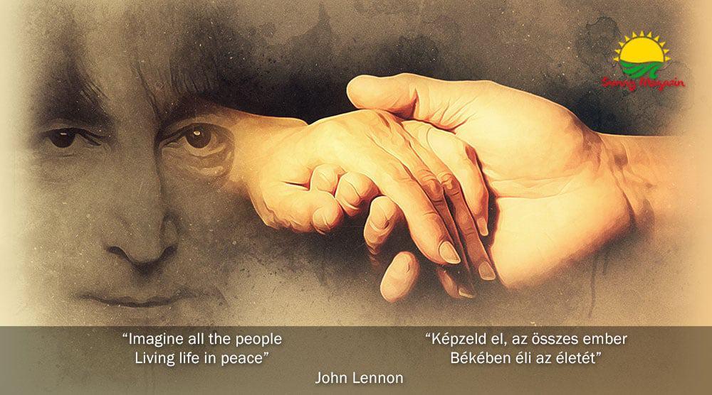 Imagine - Képzeld el - John Lennon