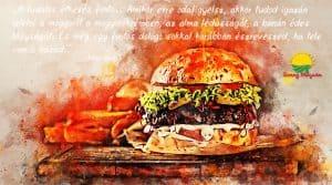 Mautner Zsófi: Egy hamburger nem a világ vége