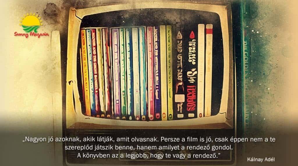 Olvasás vagy filmnézés?