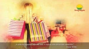 Kedélyjavító shoppingolás