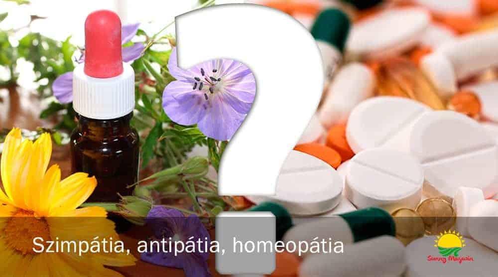 Szimpátia, antipátia, homeopátia